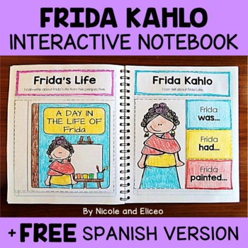 Frida Kahlo Activities Interactive Notebook