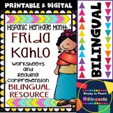Hispanic Heritage Month - Frida Kahlo - Worksheets and Rea