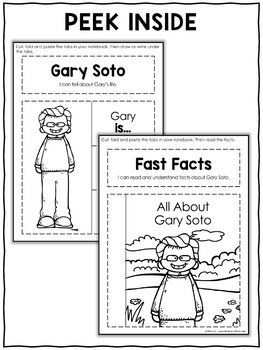 Interactive Notebook - Gary Soto Activities