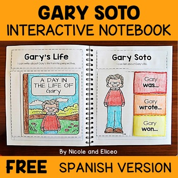 Gary Soto Activities Interactive Notebook