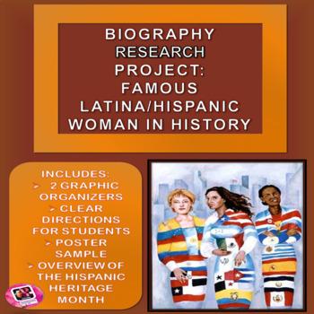 Hispanic Heritage Month: Hispanic/Latina-American Woman Research Project