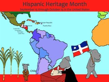Hispanic Heritage Month:  Independence History with Pepper the Pooch