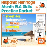 Hispanic Heritage Month ELA - Reading NO PREP Bundle