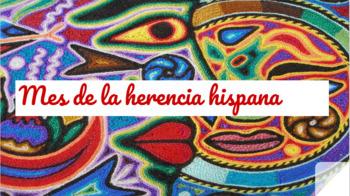 Hispanic Heritage Month (Mes de la herencia hispana)