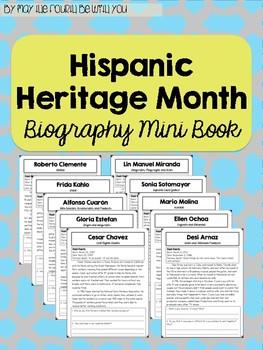 Hispanic Heritage Month Mini-Book