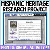 Hispanic Heritage Month Mini Research Project