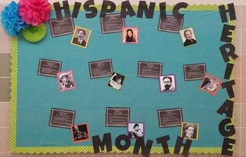 Hispanic Heritage Month Music Bulletin