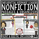 Hispanic Heritage Month Activities: Nonfiction Reading Passages with Question
