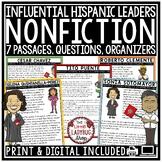 Digital Hispanic Heritage Month Activity Nonfiction Readin