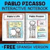 Interactive Notebook - Pablo Picasso Activities
