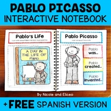 Pablo Picasso Interactive Notebook Activities