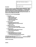 Hispanic Heritage Month Parent Letter