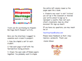 Hispanic Heritage Month Passport Book Activity