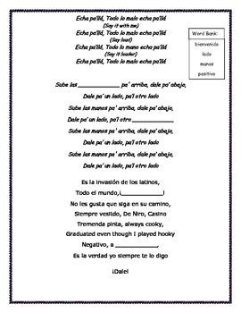 Hispanic Heritage Month Pitbull Song