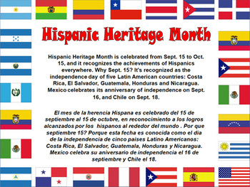 Image result for hispanic heritage Day