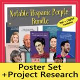 Hispanic Heritage Month: Poster Set + Project Research BUN