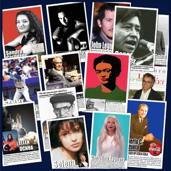 Hispanic Heritage Month Posters! 14 Posters of Diverse Hispanic Americans
