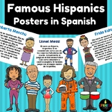 Hispanic Heritage Month Posters in Spanish (Carteles mes de herencia hispana)