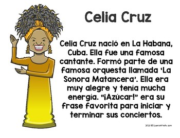 Hispanic Heritage Month Posters in Spanish (Carteles mes de herencia hispana)