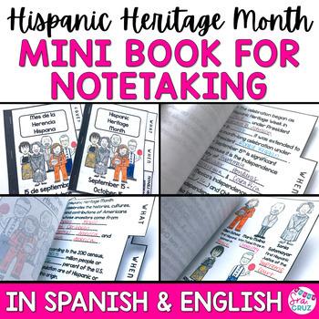 Hispanic Heritage Month Presentation and Mini Book