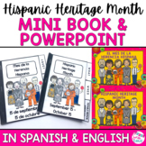 Hispanic Heritage Month Presentation and Mini Book