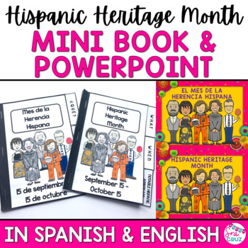 hispanic heritage month presentation and mini book by sra cruz tpt