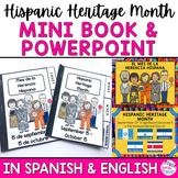 Hispanic Heritage Month PowerPoint Presentation and Mini B