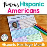 Hispanic Heritage Month Project: Famous Hispanic Americans