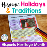 Hispanic Heritage Month Project: Holidays and Traditions
