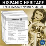 Hispanic Heritage Reading Passages