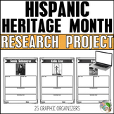 Hispanic Heritage Month Research (Graphic Organizers)