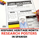 Hispanic Heritage Month Research Poster Project SPANISH