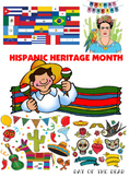 Hispanic Heritage Month Research/Writing Template English/Spanish