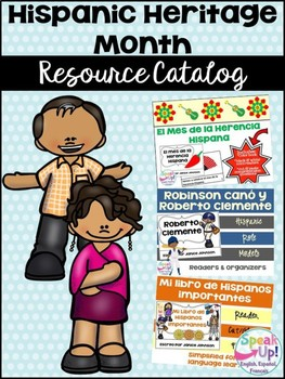 Hispanic Heritage Month Resource Catalog ~ el mes de la herencia Hispana