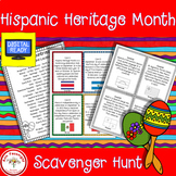 Hispanic Heritage Month Scavenger Hunt
