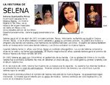 Hispanic Heritage Month Selena reading