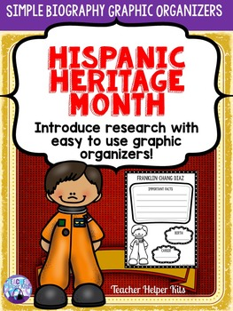 Hispanic Heritage Month- Simple Biograpy Research