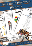 Hispanic Heritage Month Spanish | For Kids | Activities +