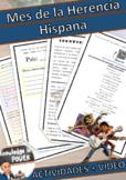 Hispanic Heritage Month Spanish | Herencia Hispana |  Acti