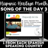 Hispanic Heritage Month Spanish Music Google Slides #3 - 1