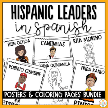 Hispanic Heritage Month Posters and Coloring Pages