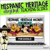 Hispanic Heritage Month Teaching Slides