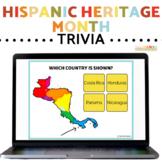 Hispanic Heritage Month Trivia Printable and Digital Task