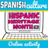 Hispanic Heritage Month: Webquest (Distance Learning)