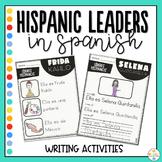 Hispanic Heritage Month Writing Activities Spanish - Heren