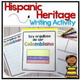 Hispanic Heritage Month Writing Activity in English & Span