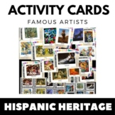 Hispanic Heritage Month - Writing and Art Activity Cards -