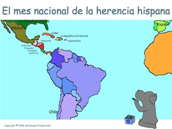 Hispanic Heritage Month in Spanish for Native Speakers with Pepper
