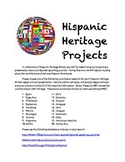 Hispanic Heritage Project with Scaffolding Resources