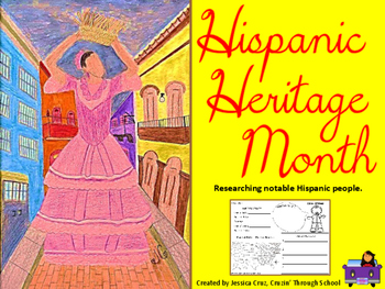 Hispanic Heritage: Researching Notable Hispanic People